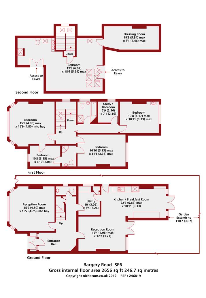 Bargery Road floor plan