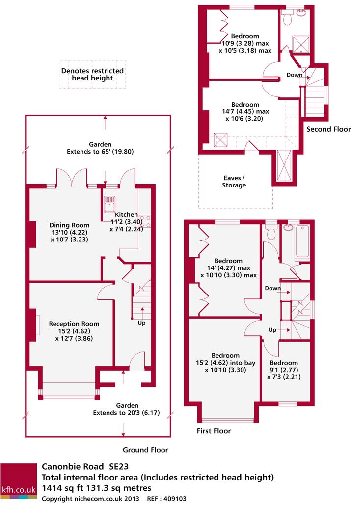 Canonbie Road floor plan